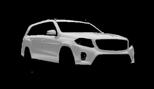 Цвета кузова GLS-Class (X166)